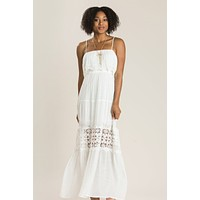 Angelina Crochet Maxi Dress