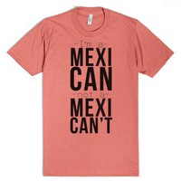 MexiCAN-Unisex Pomegranate T-Shirt