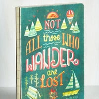 Rustic Full of Wander Journal by ModCloth