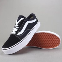 Vans Old Skool Women Men Fashion Casual Canvas Shoes-1