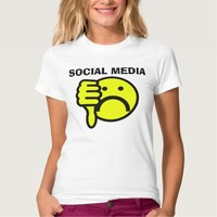 Anti-Social media (I hate) T-shirts