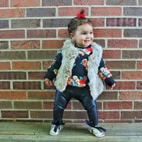 Toddler Leather Leggings for Fall