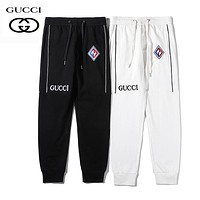 GUCCI Fashionable Men Women Casual Embroidery Sport Pants Trousers Sweatpants