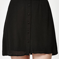 Kendall & Kylie Woven Button-Front Skirt at PacSun.com