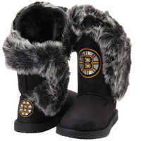 """Boston Bruins Women's Cuce Official NHL """"Champions"""" Boots"""
