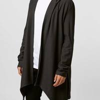 Washed Black Drape Hoody