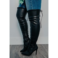 Take You Higher Boots: Black
