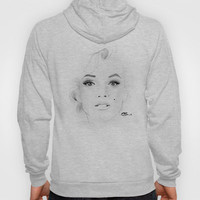 Marilyn Monroe Hoody by Paint The Moment