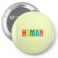 human colors Pin-back button