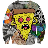 Trip Pizza Sweater