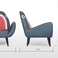Rodnik Shark Fin Chair | made.com