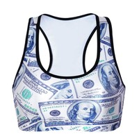 Stylish Hot Sale With Steel Wire Vest Sports Bra [6533695687]