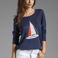 Joie Evaline Nautical Intarsia Sweater in Blue Violet from REVOLVEclothing.com