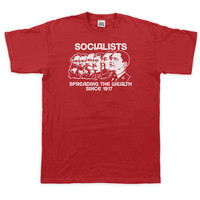 Socialists: Spreading the Wealth Tee Featuring Barack Obama