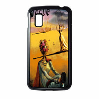 Salvador Dali Woman With Flower Head Vogue Nexus 4 Case