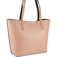Reversible Faux Leather Tote | Lord & Taylor