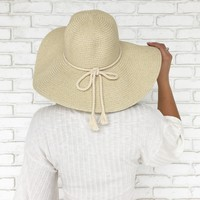 Low Tide Shimmer Floppy Hat