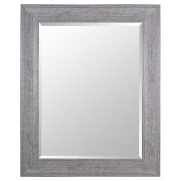 Rectangle Beveled Decorative Wall Mirror with Wide Profile - Gallery Solutions