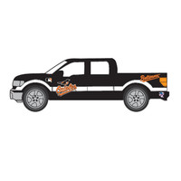 Top Dog 1:64 Ford F150 Pickup - MLB Baltimore Orioles