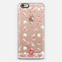 Christmas Candy - Transparent - Watercolour Painted Case iPhone 6 case by wonder forest | Casetify