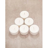 Handmade Soy Wax Tea Light Candles - Set of 6