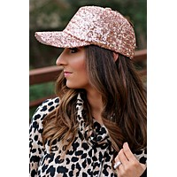 The Jazzy Hat - Rose Gold