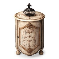 Kenwood Traditional Round Drum Table Beige
