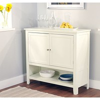 Kitchen Dining Storage Cabinet Sideboard Buffet in Antique White