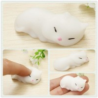 Squishy Sleeping Cat Anti Stress Toy