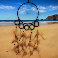 Feather Ring Home Dream Catcher [9613387023]