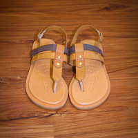 Walking On Sunshine Sandal - Brown