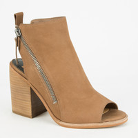 Dolce Vita Port Womens Booties Cognac  In Sizes