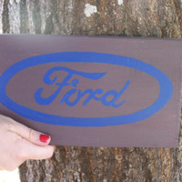 Car logo sign Ford, Toyota, 4x4, Chevy, Jeep, logo Hand Painted Wood Signs plaque