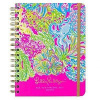 17 Month Large 2017 Agenda in Lovers Coral by Lilly Pulitzer