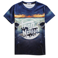 Alisister nt Trap Nation Graphic Tee-shirt