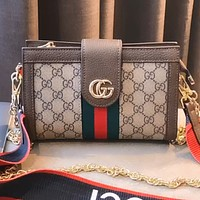 GUCCI New Retro Women's Wide Shoulder Bag Shoulder Bag Crossbody Bag