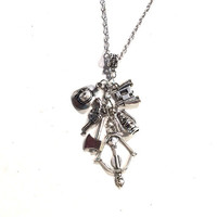 The Walking Dead Multiple Charms Necklace