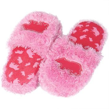 Bear Fuzzy Adult Spa Slippers