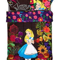 Disney Alice In Wonderland Alice In Forest Full/Queen Comforter