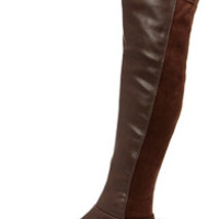 My Better Calf Brown Over the Knee Boots