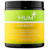 Sephora: Hum Nutrition : Raw Beauty Skin and Energy Superfood Powder - Coconut & Pineapple Tropical Infusion : vitamins-for-hair-skin-nails