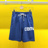 Converse logo men's stretch leggings sweatpants shorts beach pants