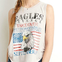 Eagle Print Freedom Tank Top