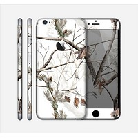 The Real Winter Camouflage Skin for the Apple iPhone 6 Plus