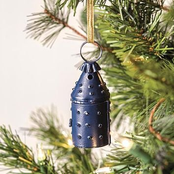 Mini Paul Revere Lantern Ornament - Blue - Box of 6