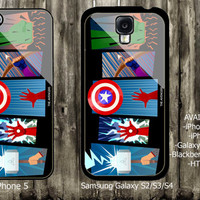 The Avengers Logo Power  iPhone 4 / 4S case iPhone 5 case Samsung Galaxy S3 case Samsung Galaxy S4 case