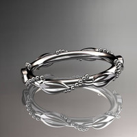 platinum wedding ring,engagement ring,wedding band ADLR178B
