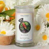 Birds of Paradise Ring Candle