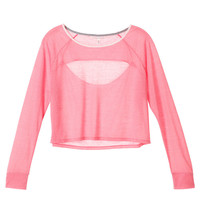 Cut-out Crop Tee - Easy Tees - Victoria's Secret