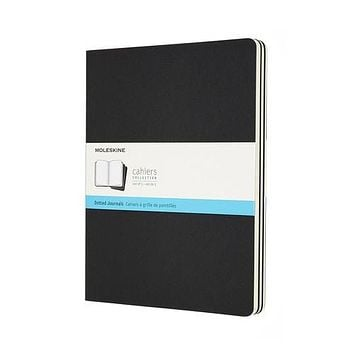 Moleskine Cahier XL Soft Cover Journals - Dotted Set of 3